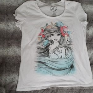 Torrid disney shirt with Ariel.